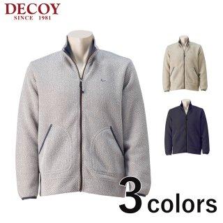 DECOY フルジップ フリースジャケット メンズ秋冬新作 214132<br>の商品画像