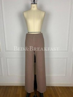 <i><b>『WINTER SALE』</i></b><br>BED&BREAKFAST<br>Super140s Wool Waffle PANTS<br>