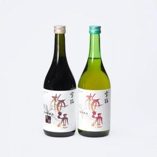 特別価格 宝梅 梅酒 2本セット(梅酒、黒糖梅酒)LKL-34