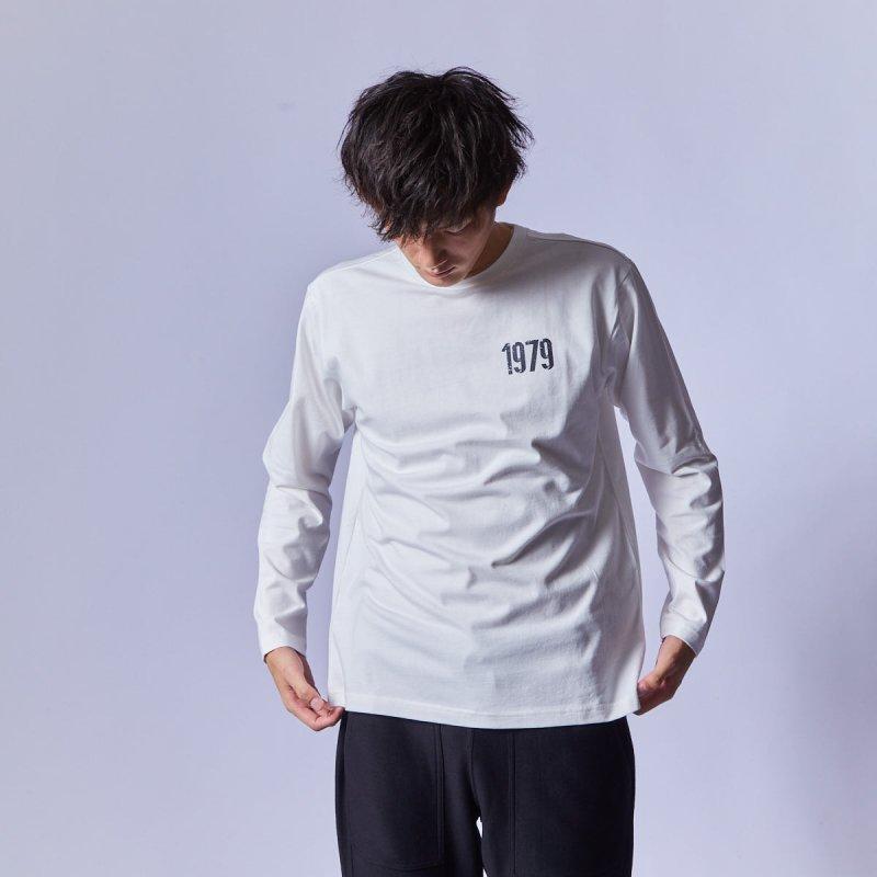 メンズ バックプリントロングTシャツ