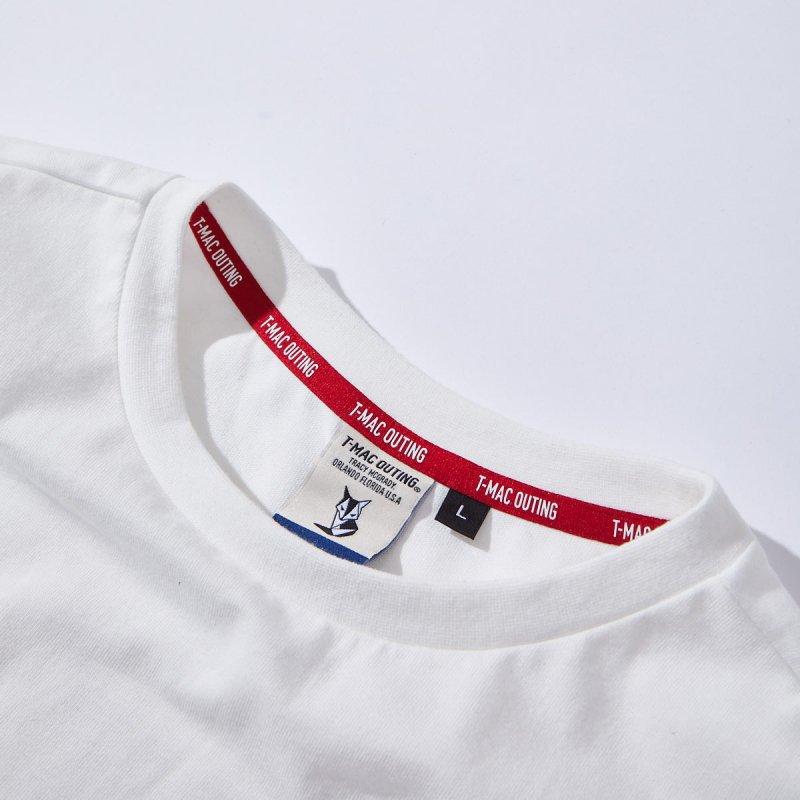 メンズ バックロゴロングTシャツ