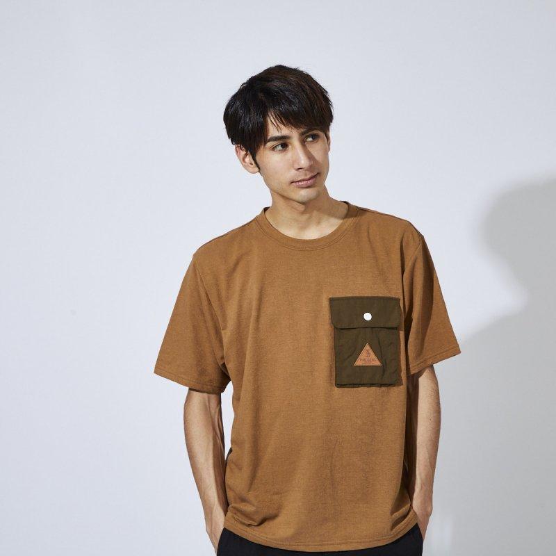 メンズ ポケ付きTシャツ