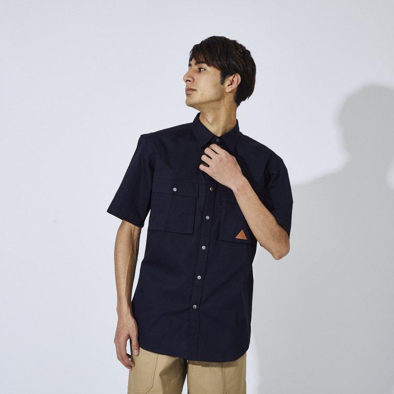 メンズ ストレッチワーク半袖シャツ