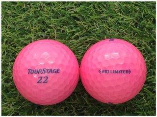 【ランク S級 】 ツアーステージ V10 LIMITED 2014年モデル ピンク 1球 (03-03-01-30-S-001)