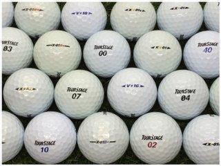 【ランク S級 】 ツアーステージ シリーズ 混合 ホワイト・パール混合 30球セット (03-15-02-00-S-030)