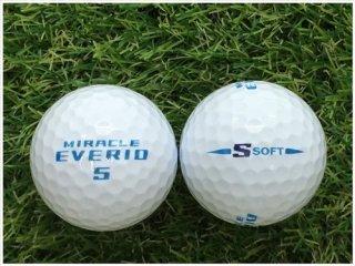 【ランク A級マーカー 】 ダンロップ MIRACLE EVERIO S-SOFT ホワイト 1球 (04-02-01-00-M-001)