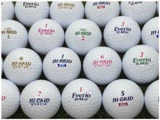 【ランク S級 】 ダンロップ Hi-Brid シリーズ 混合 ホワイト 30球セット (04-22-01-00-S-030)