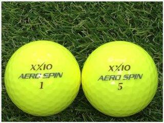 【ランク A級マーカー 】XXIO AERO SPIN 2013年モデル プレミアムパッションイエロー 1球 (06-06-01-20-M-001)