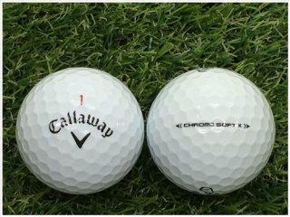 【ランク A級マーカー 】 キャロウェイ CHROME・SOFT X 2020年モデル ホワイト 1球 (07-01-04-00-M-001)
