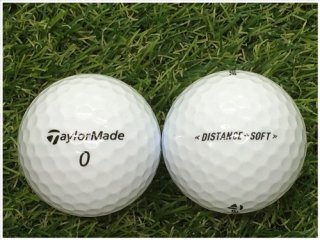 【ランク S級 】 テーラーメイド DISTANCE+SOFT 2019年モデル ホワイト 1球 (08-08-04-00-S-001)