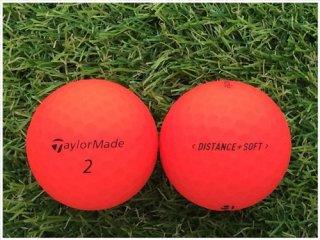 【ランク B級 】 テーラーメイド DISTANCE+SOFT 2019年モデル レッド 1球 (08-08-04-40-B-001)