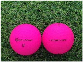 【ランク A級マーカー 】 テーラーメイド DISTANCE+SOFT 2019年モデル ピンク 1球 (08-08-04-30-M-001)