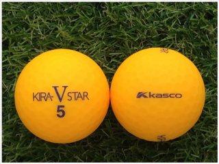 【ランク A級マーカー 】 キャスコ KIRA STAR V 2017年モデル マットカラーオレンジ 1球 (09-03-01-10-M-001)
