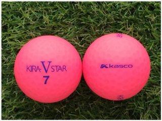 【ランク A級マーカー 】 キャスコ KIRA STAR V 2017年モデル マットカラーピンク 1球 (09-03-01-30-M-001)