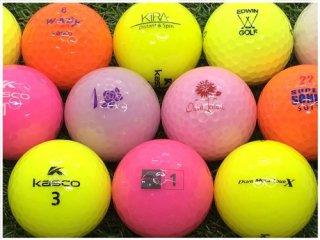 【ランク A級マーカー 】 キャスコ キャスコ カラーシリーズ混合 カラー混合 30球セット (09-20-02-80-M-030)