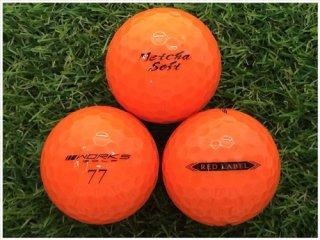 【ランク A級マーカー 】 WORKS GOLF 飛匠 RED LABEL めっちゃソフト 2019年モデル オレンジ 1球 (12-01-14-10-M-001)