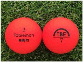 【ランク S級 】 WORKS GOLF TOBiEMON 飛衛門 TBE マットカラーレッド 1球 (12-01-02-40-S-001)