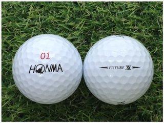 【ランク B級 】 HONMA FUTURE・XX 2019年モデル ホワイト 1球 (12-03-15-00-B-001)