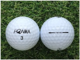 【ランク B級 】 HONMA TW-G1 2014年モデル ホワイト 1球 (12-03-10-01-B-001)