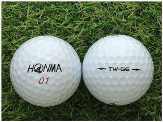 【ランク B級 】 HONMA TW-G6 ホワイト 1球 (12-03-09-00-B-001)