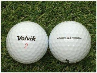 【ランク B級 】Volvik S3 ホワイト 1球 (12-06-03-00-B-001)