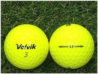 【ランク B級 】Volvik S3 イエロー 1球 (12-06-03-20-B-001)