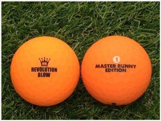 【ランク B級 】パーリーゲイツ MASTER BUNNY  EDITION  レボリューションブロー ネオンマットカラー オレンジ 1球 (12-08-02-10-B-001)