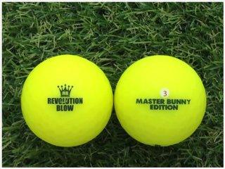 【ランク B級 】パーリーゲイツ MASTER BUNNY  EDITION  レボリューションブロー ネオンマットカラー イエロー 1球 (12-08-02-20-B-001)