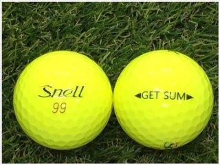 【ランク B級 】Snell Golf GET SUM イエロー 1球 (12-09-01-20-B-001)
