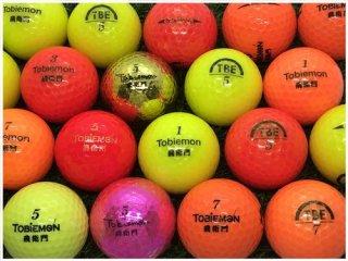 【ランク S級 】 ワークスゴルフ WORKS GOLF TOBiEMON シリーズ混合 カラー混合 30球セット (12-01-00-80-S-030)
