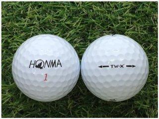 【ランク A級マーカー 】 本間ゴルフ HONMA TW-X 2018年モデル ホワイト 1球 (12-03-18-00-M-001)