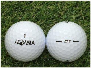 【ランク A級マーカー 】 本間ゴルフ HONMA D1  2020年モデル ホワイト 1球 (12-03-19-00-M-001)