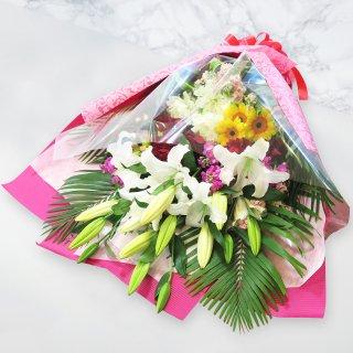 季節のおまかせ花束1.5万 [当日配達・深夜配達可]