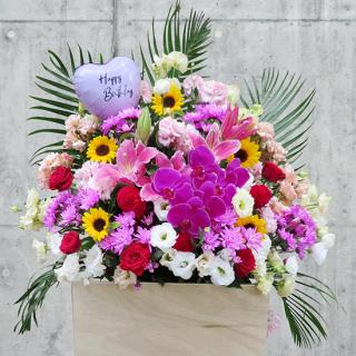 【追加注文専用】スタンド花・アレンジメント用メッセージバルーン 小