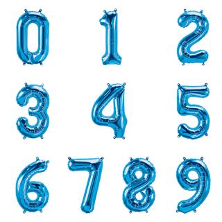 【追加注文専用】ナンバーバルーン Mサイズ ブルー