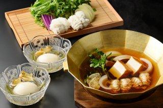 季節の鍋セット〜名物・松前とうふと出汁薫る はも鍋〜