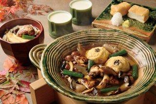 季節の鍋セット〜松茸と彩りきのこ鍋〜