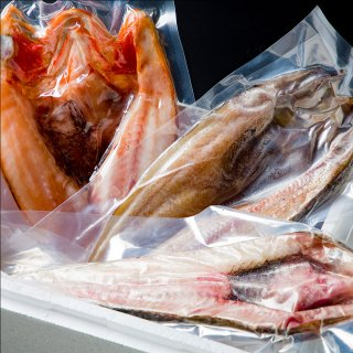 魚セット(キンキ、ホッケ、八角)