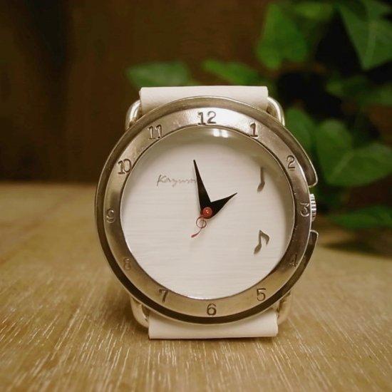 音符をモチーフにした腕時計