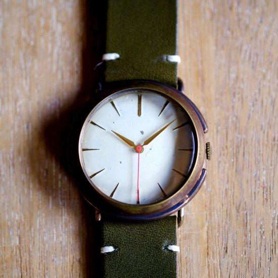 バーインデックスの腕時計