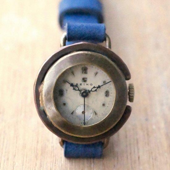 ビンテージ文字盤の腕時計