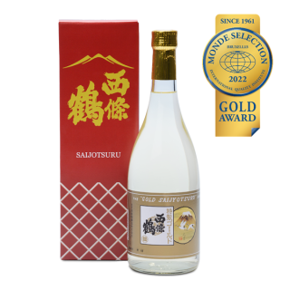 吟醸酒「ゴールド西條鶴」720ml