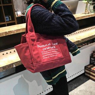 【Mサイズ】カラバリトートバッグ(全5色)