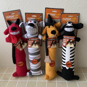 ルーファ---Multipet Halloween Loofa Dog