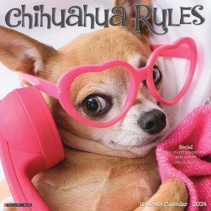 WillowCreek チワワ カレンダー Chihuahua Rules