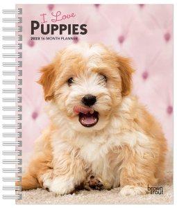 週めくりスケジュール帳 I love Puppies