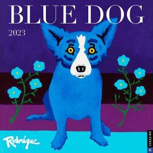 Blue Dog 月めくりカレンダー