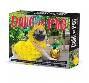 日めくり Willow Creek Doug the PUG パグ