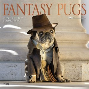 BrownTrout Fantasy Pugs パグカレンダー