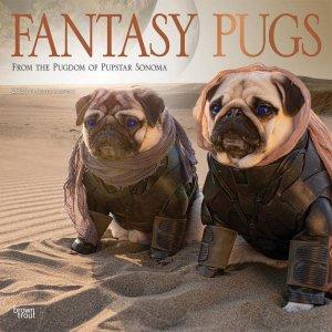 パグ Fantasy Pugs カレンダー Browntrout